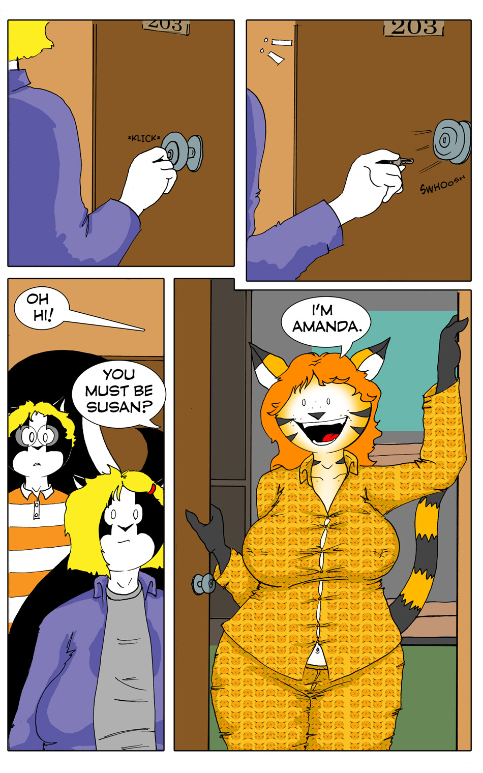 Her Tiger Pajama's Chapter 1 Page 5